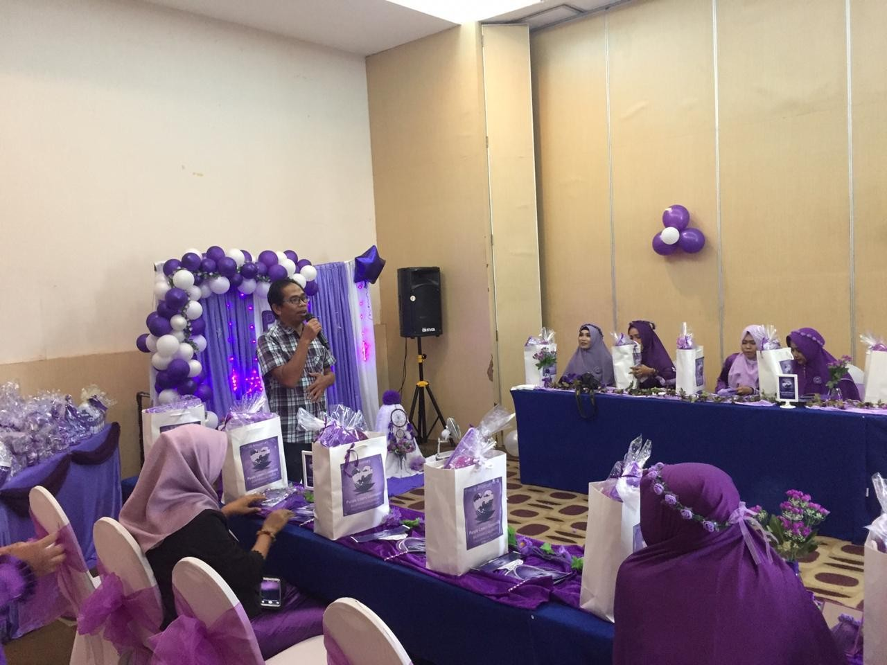 Purple love comunity kaltim Gabung member Tribun family card