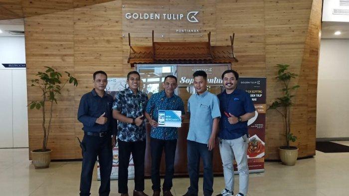 kabar gembira bagi para member TFC untuk bisa menikmati makanan dan minuman khas Golden Tulip seperti Mantau dan Coffe